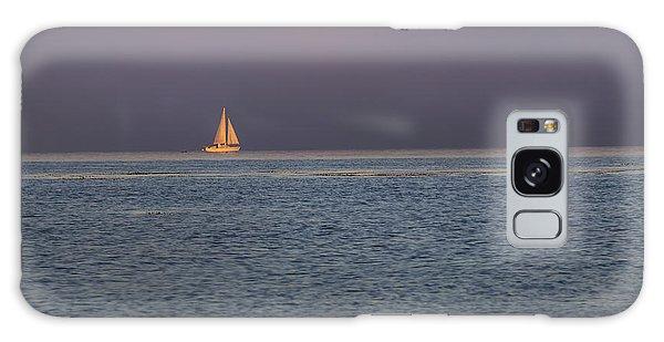 Golden Sunrise Sails By Denise Dube Galaxy Case