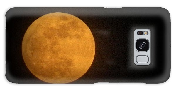 Golden Super Moon Galaxy Case by Kathy Barney