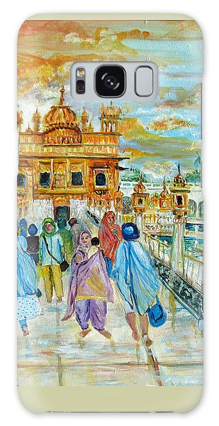 Sikh Art Galaxy Case - Golden Temple by Sarabjit Singh