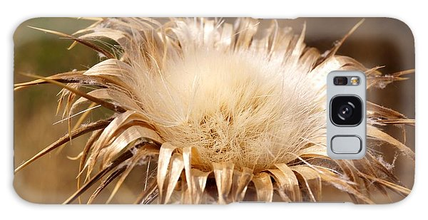 Golden Thistle Galaxy Case by Kerri Mortenson