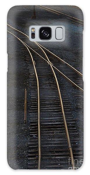 Train Galaxy S8 Case - Golden Tracks by Margie Hurwich