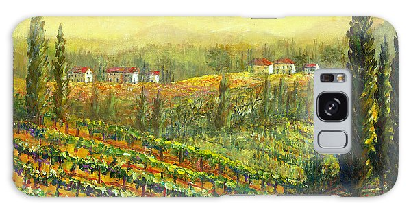 Golden Tuscany Galaxy Case by Lou Ann Bagnall