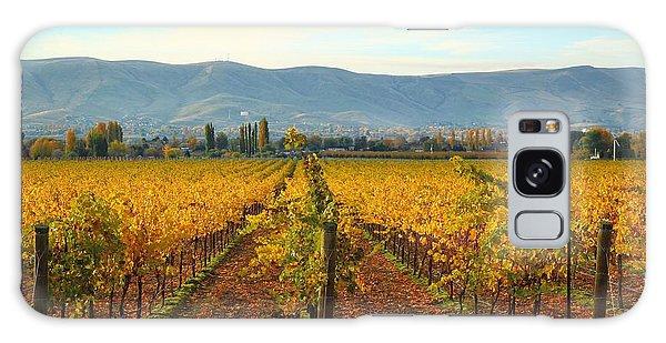 Golden Vineyards Galaxy Case by Lynn Hopwood