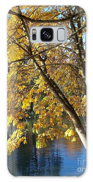 Golden Zen Galaxy Case by Chalet Roome-Rigdon