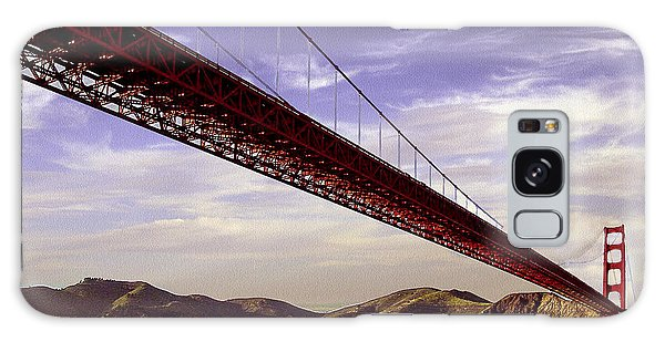 Goldengate Bridge San Francisco Galaxy Case by Bob and Nadine Johnston
