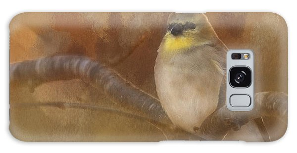 Resting Goldfinch Galaxy Case by Betty  Pauwels