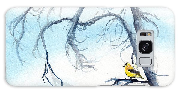 Goldfinch In Tree Galaxy Case