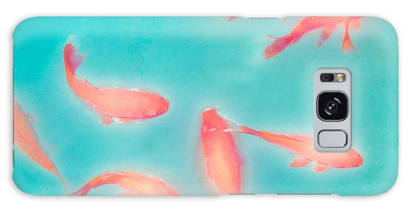 Goldfish - Glowing Fish - Gary Heller Galaxy Case