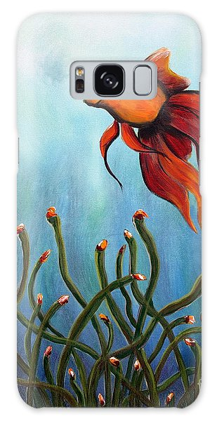 Goldfish Galaxy Case