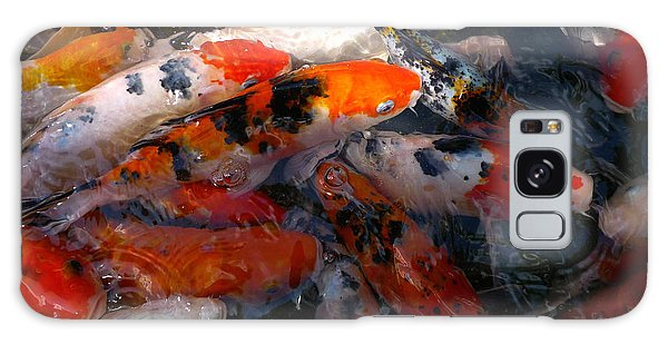Goldfish Shimmer Galaxy Case