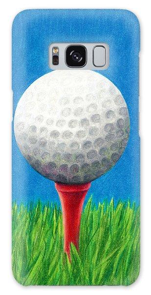 Golf Ball And Tee Galaxy Case
