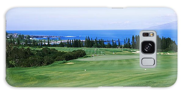 Golf Course At The Oceanside, Kapalua Galaxy Case