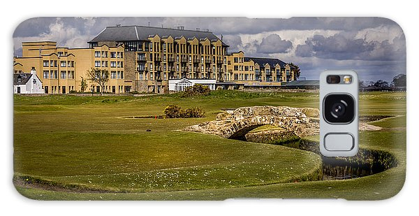 Wall Art Swilcan Bridge St Andrews Scotland Galaxy Case