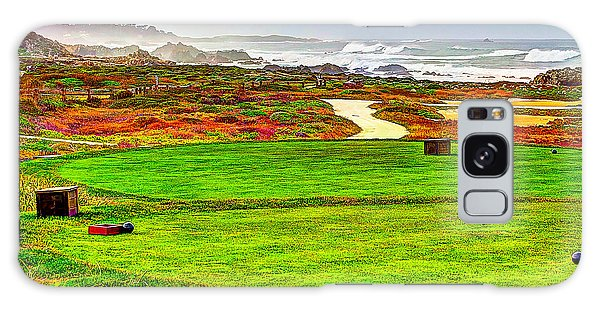 Golf Tee At Spyglass Hill Galaxy Case by Jim Carrell