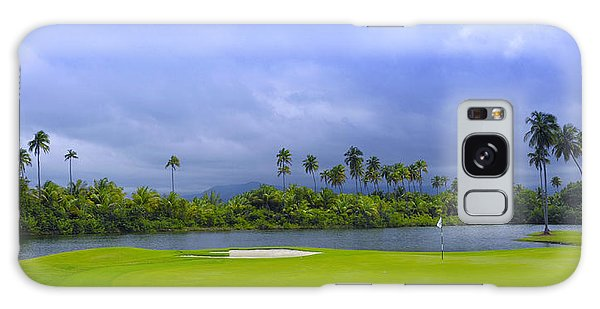 Golfer's Paradise Galaxy Case by Stephen Anderson