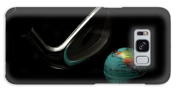 Golfing The World Galaxy Case by Linda Matlow