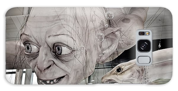 Gollum Or Smeagol Galaxy Case by Yurix Sardinelly