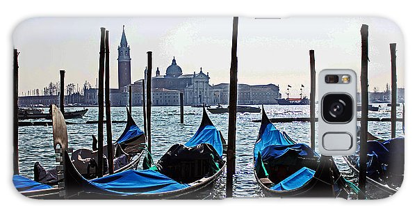 Gondolas Of Venice Galaxy Case