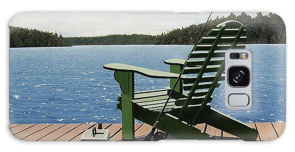 Gone Fishing Aka Fishing Chair Galaxy Case