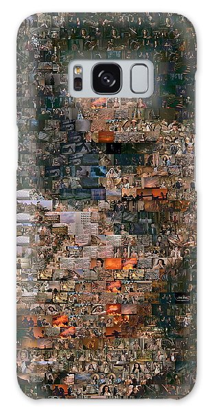 Gone With The Wind Scene Mosaic Galaxy Case by Paul Van Scott