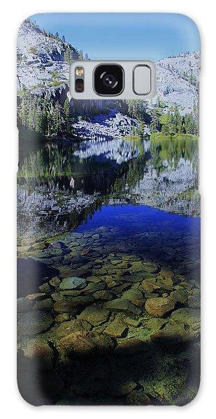 Good Morning Eagle Lake Galaxy Case by Sean Sarsfield