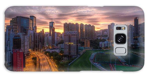 Good Morning Hong Kong Galaxy Case by Mike Lee