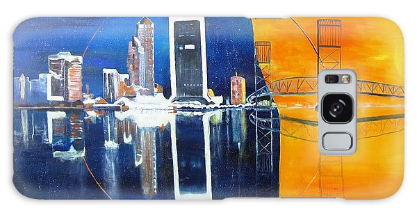 Good Morning Jacksonville Galaxy Case by Gary Smith