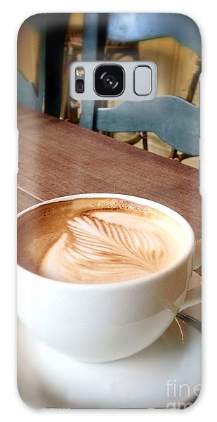 Good Morning Latte Galaxy Case by Susan Garren