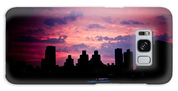 Good Morning New York Galaxy Case by Sara Frank