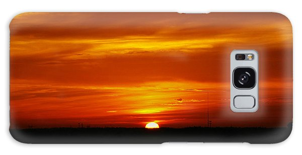 Good Morning Sunshine Galaxy Case by Oscar Alvarez Jr