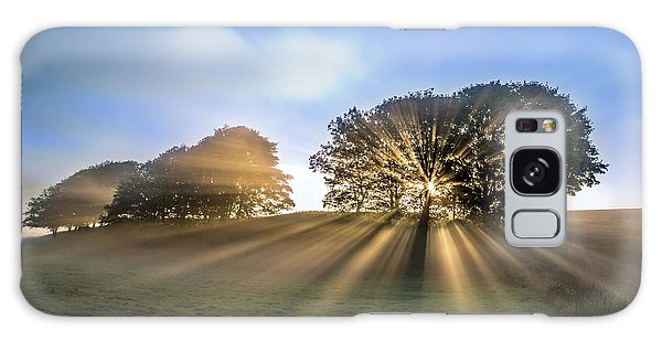 Countryside Galaxy Case - Good Morning To A Great Day. by Leif L?ndal