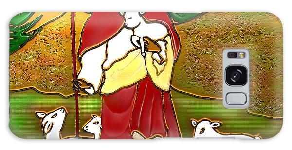 Good Shepherd Galaxy Case by Latha Gokuldas Panicker