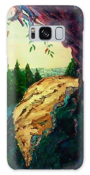 Galaxy Case featuring the painting Good Summer Time by Ray Khalife