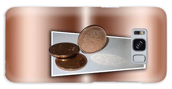 Goodbye Canadian Penny Galaxy Case