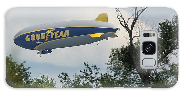 Goodyear Blimp Tree Top Flyer Galaxy Case