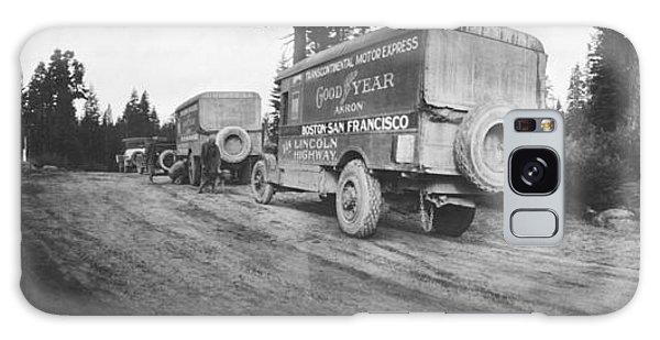 Caravan Galaxy Case - Goodyear Wingfoot Express by Underwood Archives
