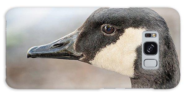Goose Profile Galaxy Case by Len Romanick