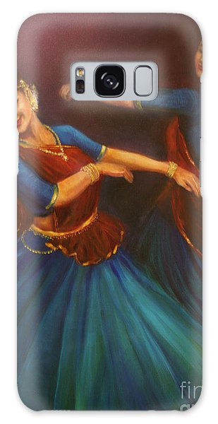 Gopis Dancing To The Flute Of Krishna Galaxy Case
