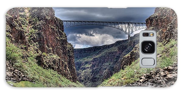 Gorge Bridge Galaxy Case