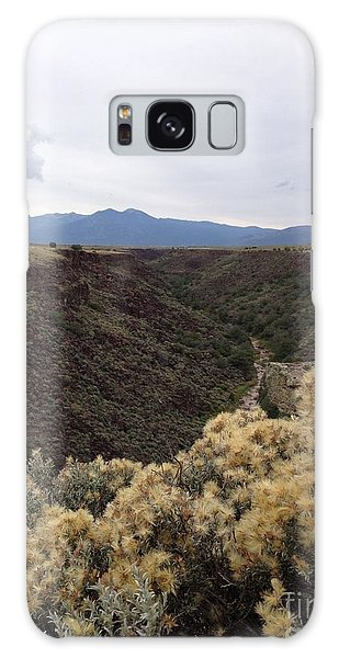 Gorge In Taos Galaxy Case by Polly Anna