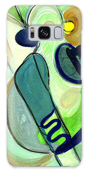 Gorgeous In Green Galaxy Case