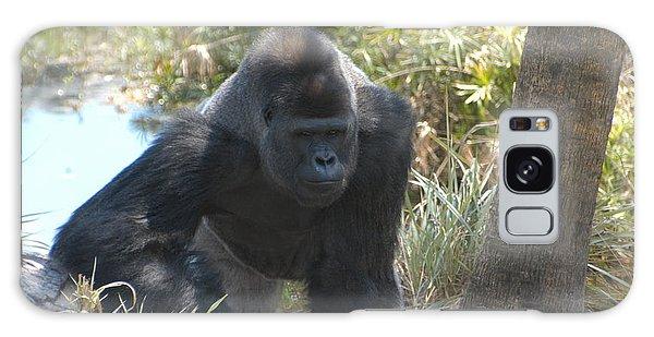 Gorilla 01 Galaxy Case by Donald Williams
