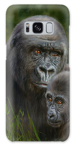 Gorilla And Baby Galaxy Case