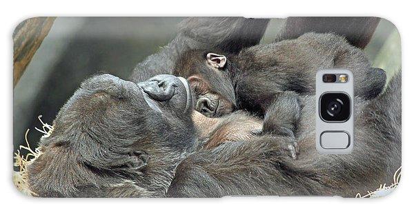Gorilla And Baby Galaxy Case