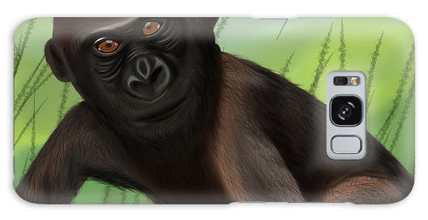 Gorilla Greatness Galaxy Case