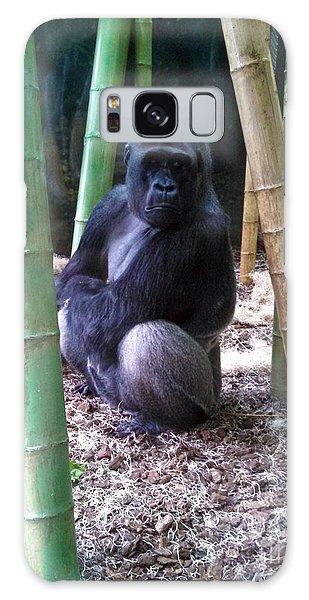 Gorilla Lincoln Park Zoo Galaxy Case