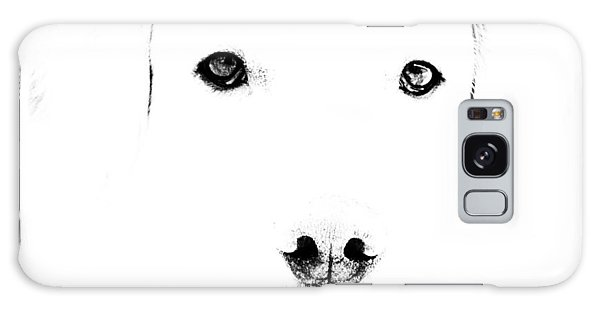 Dog Face Galaxy Case