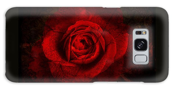 Gothic Red Rose Galaxy Case by Absinthe Art By Michelle LeAnn Scott