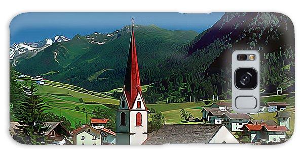 Gothic Spikes In An Austrian Village Galaxy Case by Wernher Krutein