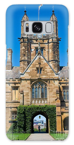 Gothic Tower And Entrance Of Sydney University Galaxy Case